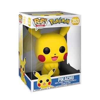 "Figurine Funko Pop Games Pokemon S1 10"" Pikachu Avant-première Fnac"