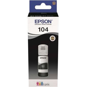 Cartouche d'encre Epson Ecotank Série 104 Noir