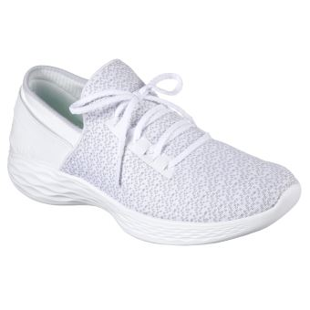 Blanches You Chaussures 41 Femme Taille Ou Skechers OXkiuPZ