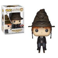 Figurine Funko Pop Harry Potter Ron Weasley avec chapeau