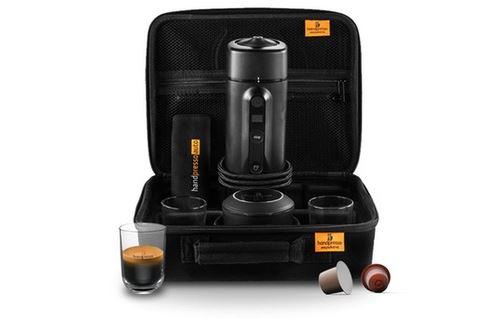 Coffret Machine Expresso Capsule pour Voiture Handpresso 48310 120 W Noir