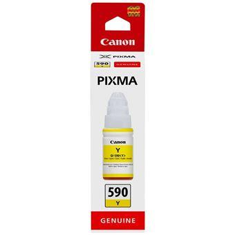 Bouteille d'encre Canon Pixma GI-590Y Jaune 70 ml