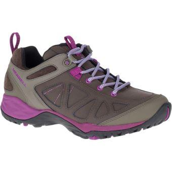 fe4f472cd73 Chaussures de randonnée Femme Merrell Siren Q2 Marron et Violettes Taille 38