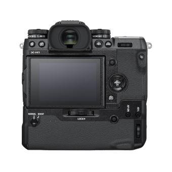 Kit Hybride Fujifilm X-H1 Noir avec grip et batterie