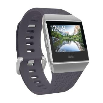Montre Sport Fitbit Ionic Bleu gris et argenté