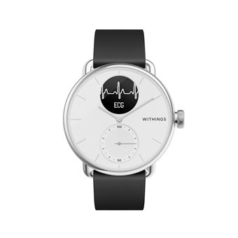 Montre connectée Withings Scanwatch 38mm Blanc