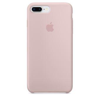 Coque en silicone Apple Rose des sables pour iPhone 7 Plus et 8 Plus