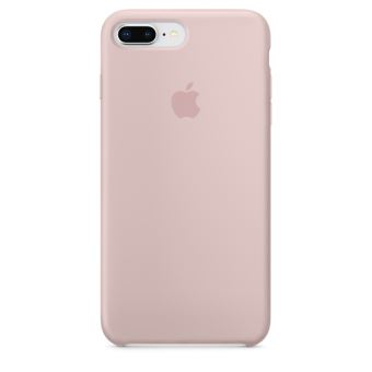 APPLE IPHONE 8+ / 7+ SILICONE CASE PINK SAND