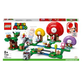 LEGO®SuperMario™ 71368 Ensemble d'extension La chasse au trésor de Toad