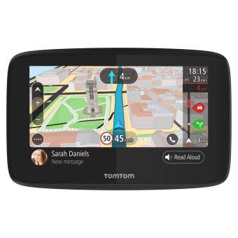 Trafic /à Vie via Smartphone Cartographie Europe 48 5 Pouces TomTom VIA 52 et Appel Mains-Libres - GPS Auto