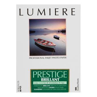 Papier photo Lumière Prestige Brillant 12.7 x 17.8 cm - 100 feuilles