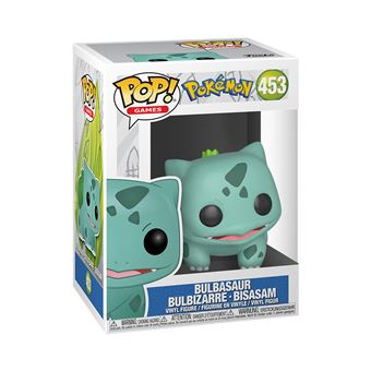 Figurine Funko Pop Games Pokemon Bulbizarre Exclusivité FNAC