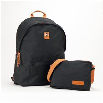 Sac à dos personnalisable et modulable Kuts Cityzen 18 L Noir