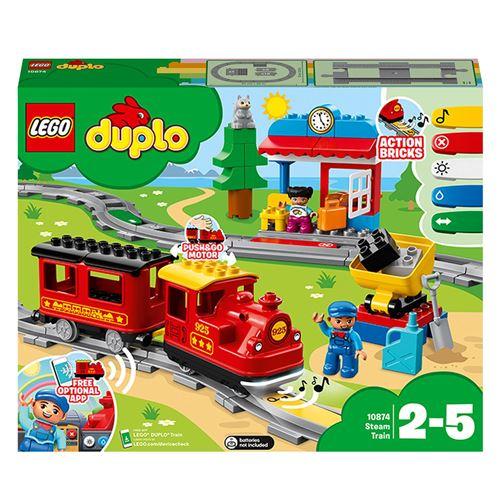 LEGO® DUPLO® Town Trains 10874 Le train à vapeur