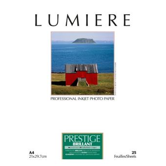 LUMIERE PRESTIGE PHOTO PAPER BRILLANT A4 100F