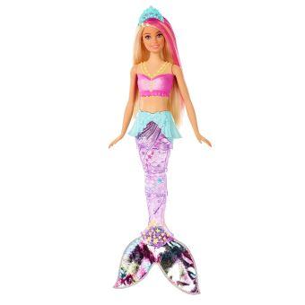 Muñeca Mattel - Barbie Sirena Nada y Brilla