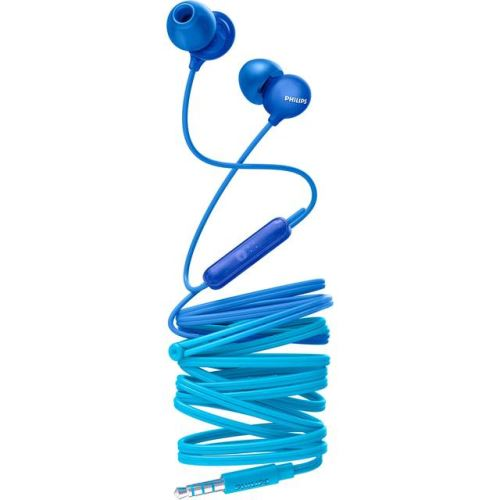Ecouteurs intra-auriculaires Philips UpBeat SHE2405BL Bleu avec Micro