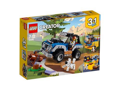 LEGO® Creator 3 en 1 31075 Les aventures tout terrain