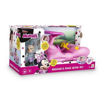 Avec Minnie Cabriolet Rose Imc Figurine Toys Voiture Radiocommandée bvfg67Yy