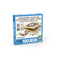 Jeu classique Cartamundi Coffret 100 jeux en bois