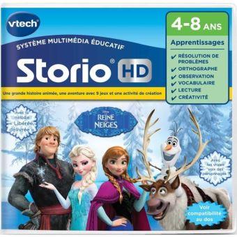 Jeu Pour Tablette HD Storio Vtech La Reine Des Neiges