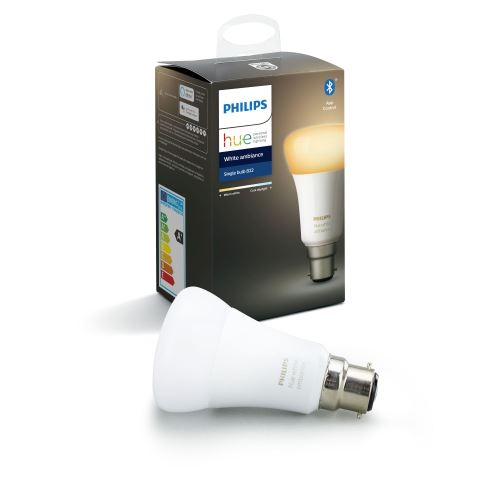 Ampoule Philips Hue White Ambiance Blanc chaud Blanc froid B22 9,5 W