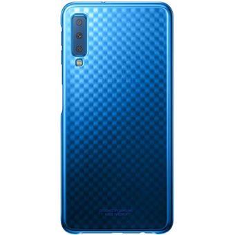 Coque Samsung Bleu pour Galaxy A7 2018