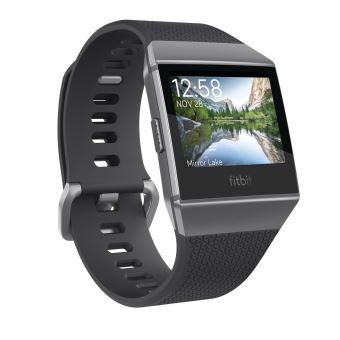 Fitbit Ionic Activity Tracker Smoke Grey