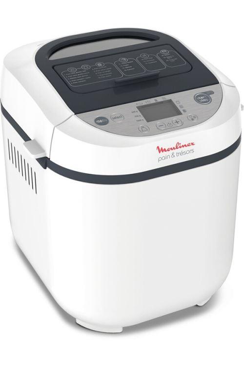 Machine à pain Moulinex OW250110 Pain et Trésor Blanc