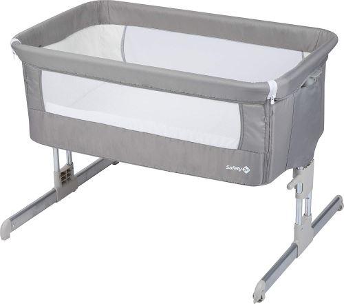 Lit bébé cododo Safety First Calidoo Gris