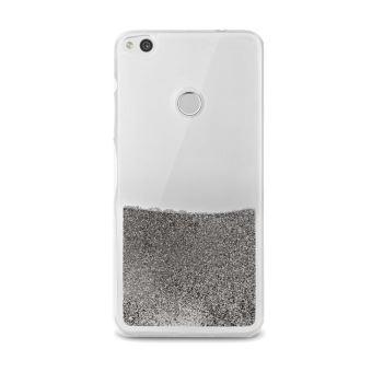 Coque Puro Sand Pailletée Argent pour Huawei P8 Lite 2017