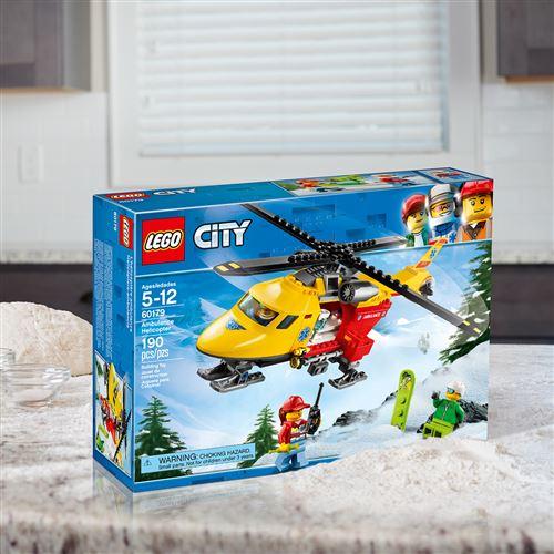 City City Lego® 60179 L'hélicoptère L'hélicoptère Ambulance Lego® 60179 60179 Lego® Ambulance City trhdQCxs