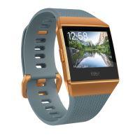 Montre Sport Fitbit Ionic Bleu ardoise et orange métallisé