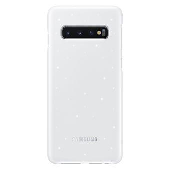 Coque avec affichage LED Samsung Blanc pour Galaxy S10