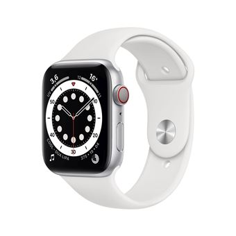 Photo de apple-watch-series-6-44mm-boitier-aluminium-argent