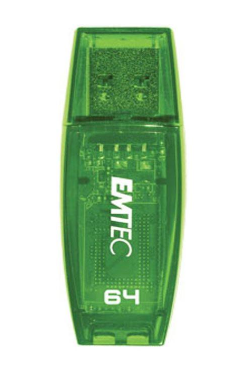 Clé USB 3.0 Emtec C410 64 Go Vert