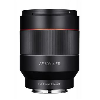 SAMYANG objectif 50 mm f/1.4 as if umc sony fe auto focus