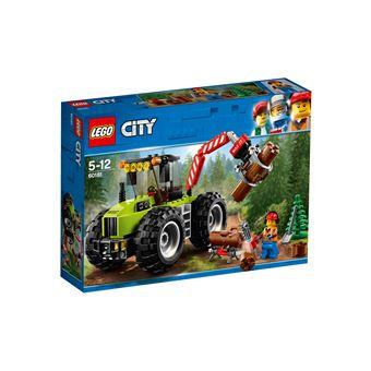 LEGO® City Great Vehicles 60181 Le tracteur forestier