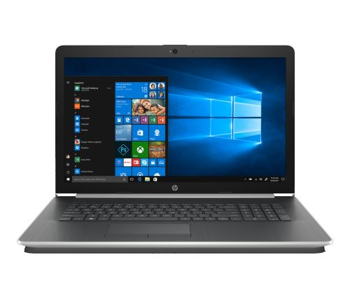 """PC Portable HP 17-by0091nf 17,3"""" Intel Pentium 4 Go RAM 128 Go SSD + 1 To SATA Argent naturel"""