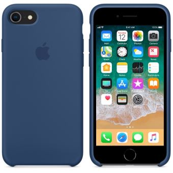 coque iphone 8 blue