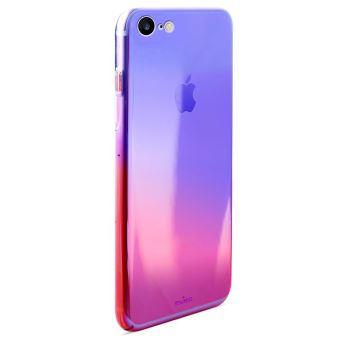 Coque Puro Hologramme Rose pour iPhone 7 et 8