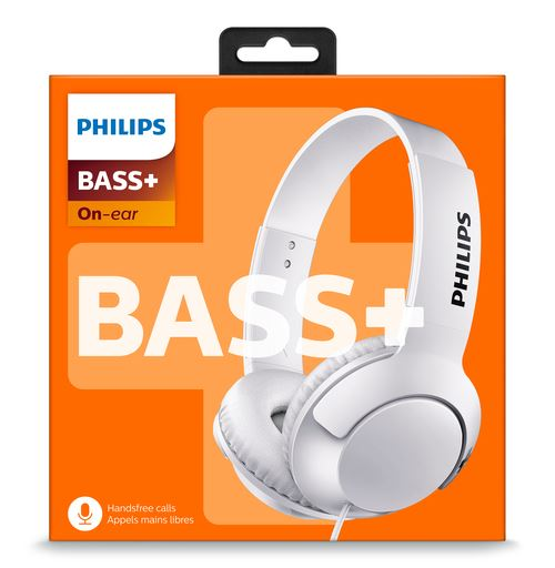 Casque filaire Philips Bass+ SHL3075WT Blanc