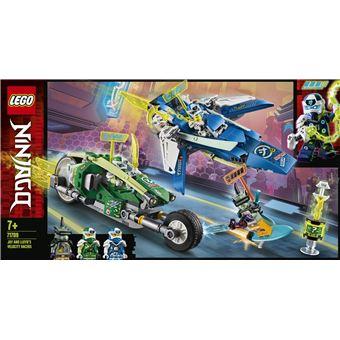 LEGO Ninjago 71709 Vehículos Supremos de Jay y Lloyd