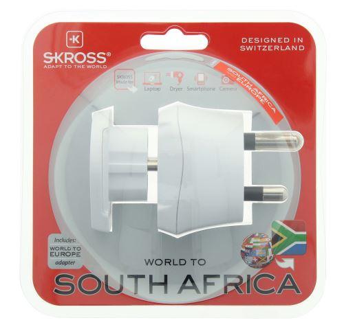 Skross secteur prise Adaptateur de voyage Combo-monde en afrique du sud-Neuf