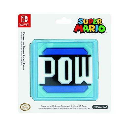 Boîtier de rangement Nintendo POW pour Nintendo Switch