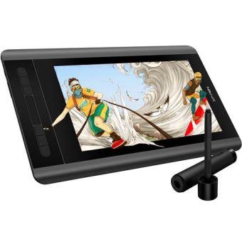 Tablette Graphique avec écran - XP-PEN Artist 12 - Taille 11.6 Pouces avec Barre Tactile - Stylet Passif 8192 Niveaux avec Gomme