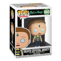 Figurine Funko Pop Animation Rick et Morty Death Crystal Morty
