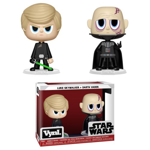 Figurine Funko Vynl Darth Vader Et Luke Skywalker ROTJ