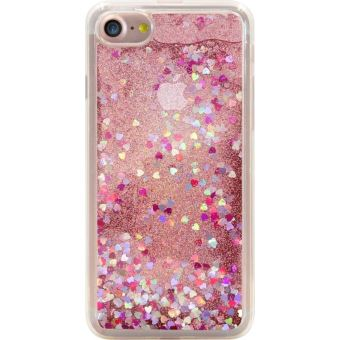 Coque The Kase Bling Bling Pailletee Hybride Pink Lady pour iPhone 7 Plus