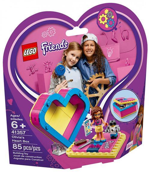 LEGO® Friends 41357 La boîte cœur d'Olivia